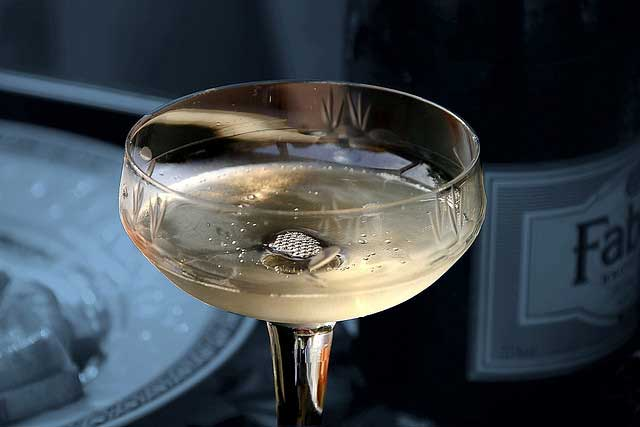 Champagne and Vintage Glass