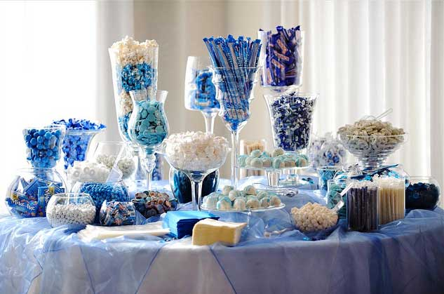 Blue Wedding Sweets Table by Corey Ann - Flickr