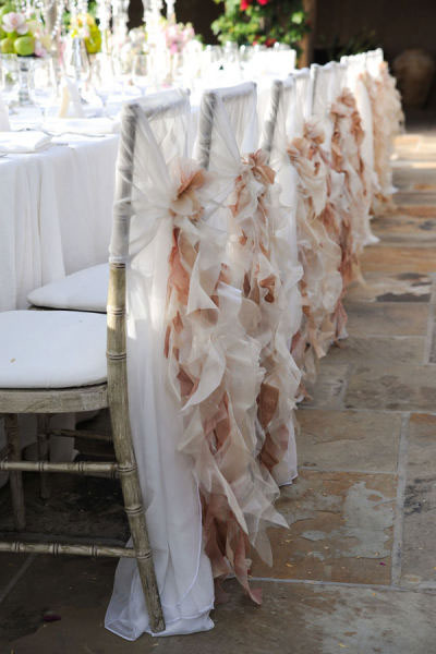 Frilly Vintage Chair Covers