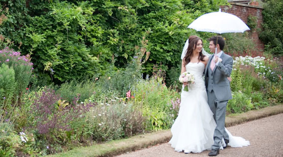Whatton Gardens Wedding Couple