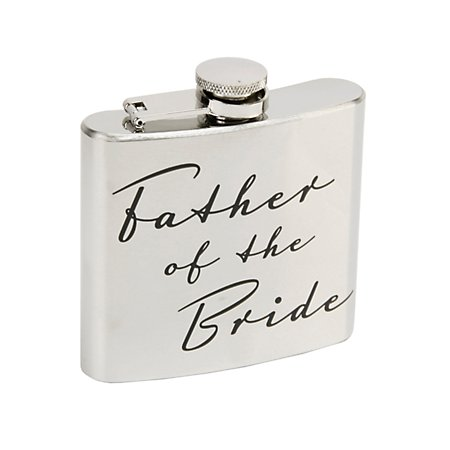 Father of the Bride Hipflask