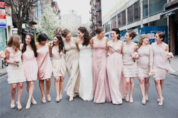 Trendy Mix and Bridesmaids