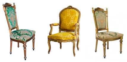 Downton Abbey Chairs