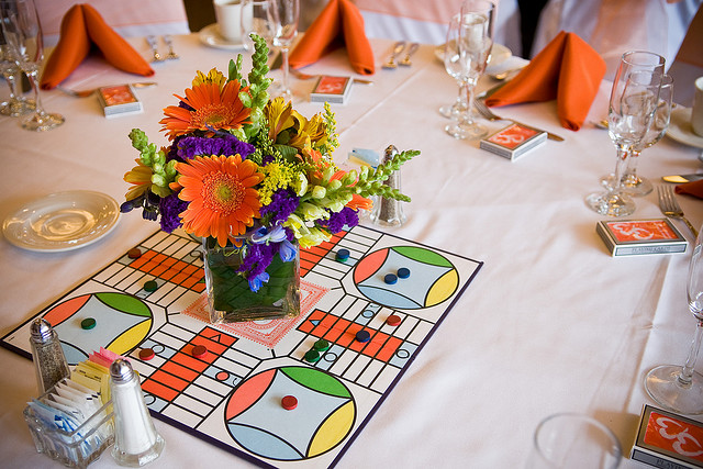 Game themed ways to make your wedding more fun b g