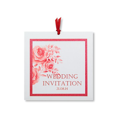 amelie red day invitation