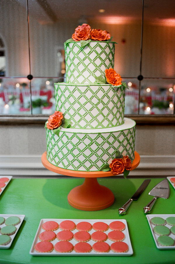pictures of orange and green wedding cakes wedding colour inspiration green envy b amp g 18416