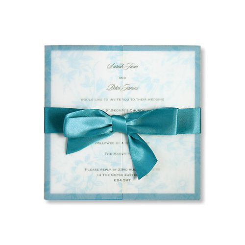 jasper teal day invitation