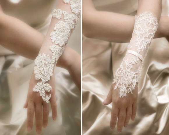 Bridal Wedding Glove