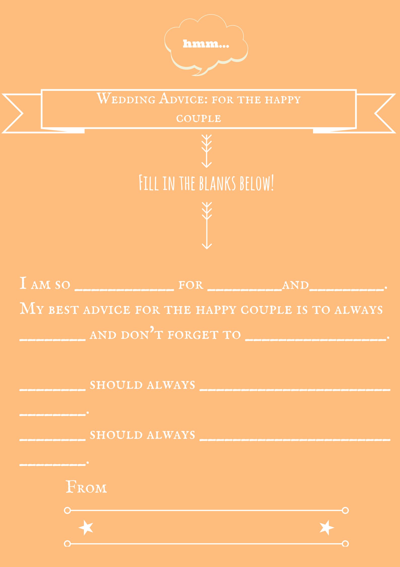 wedding advice game downloadable