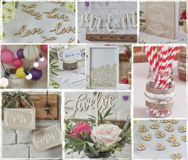 New Rustic, Vintage & Rose Gold Product Ranges!