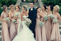Dusty Pink Wedding Trend
