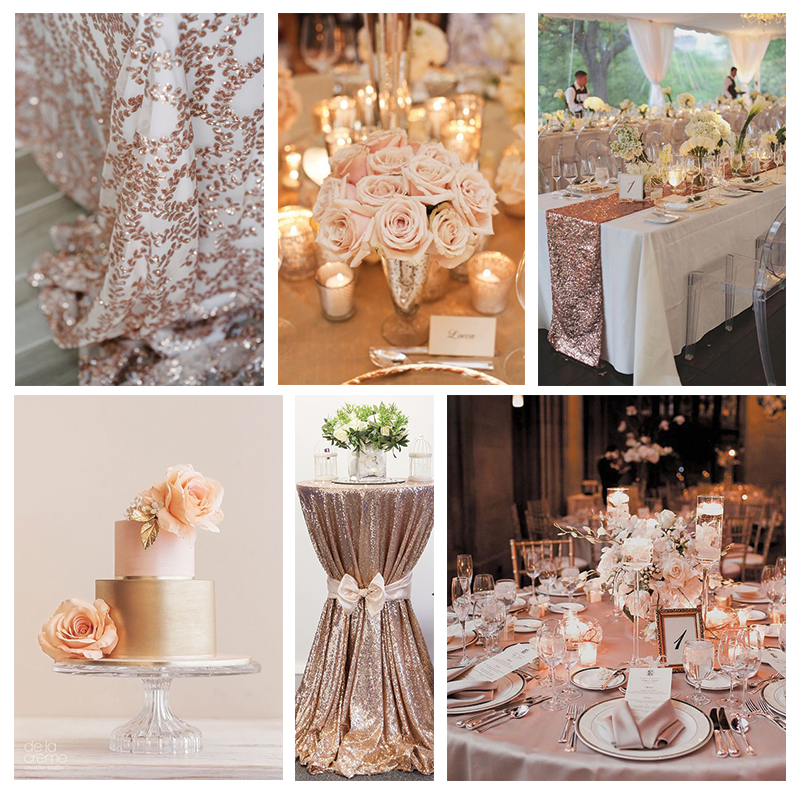 Rose Wedding Ideas: Rose Gold Wedding Inspiration