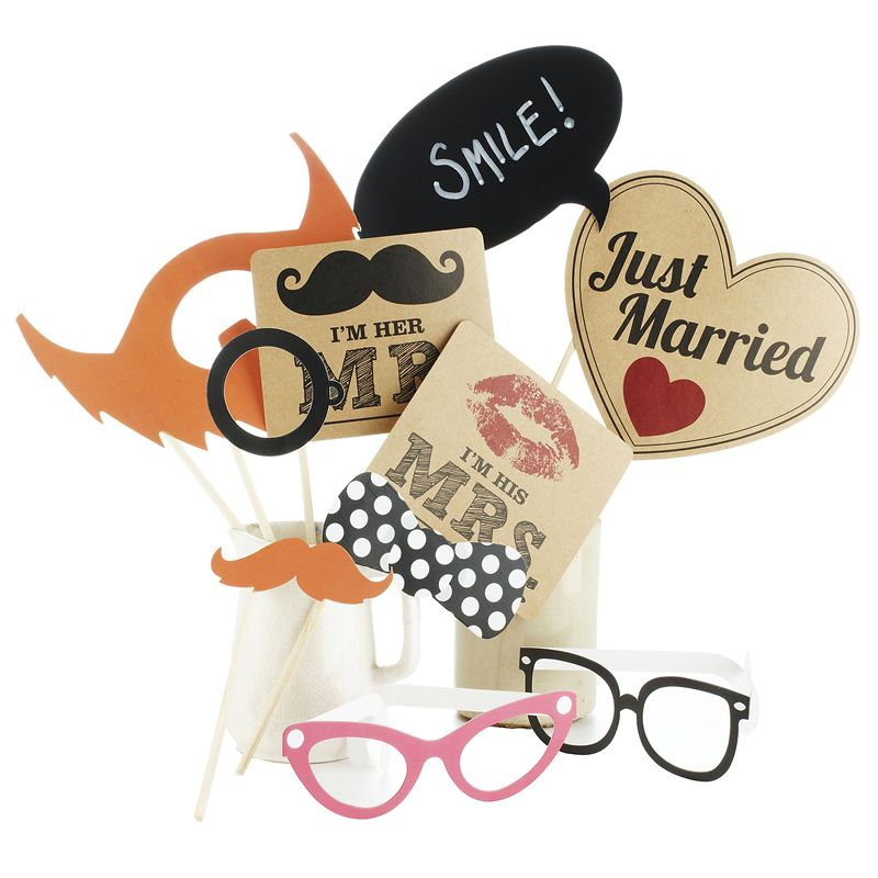 The Wedding props you need