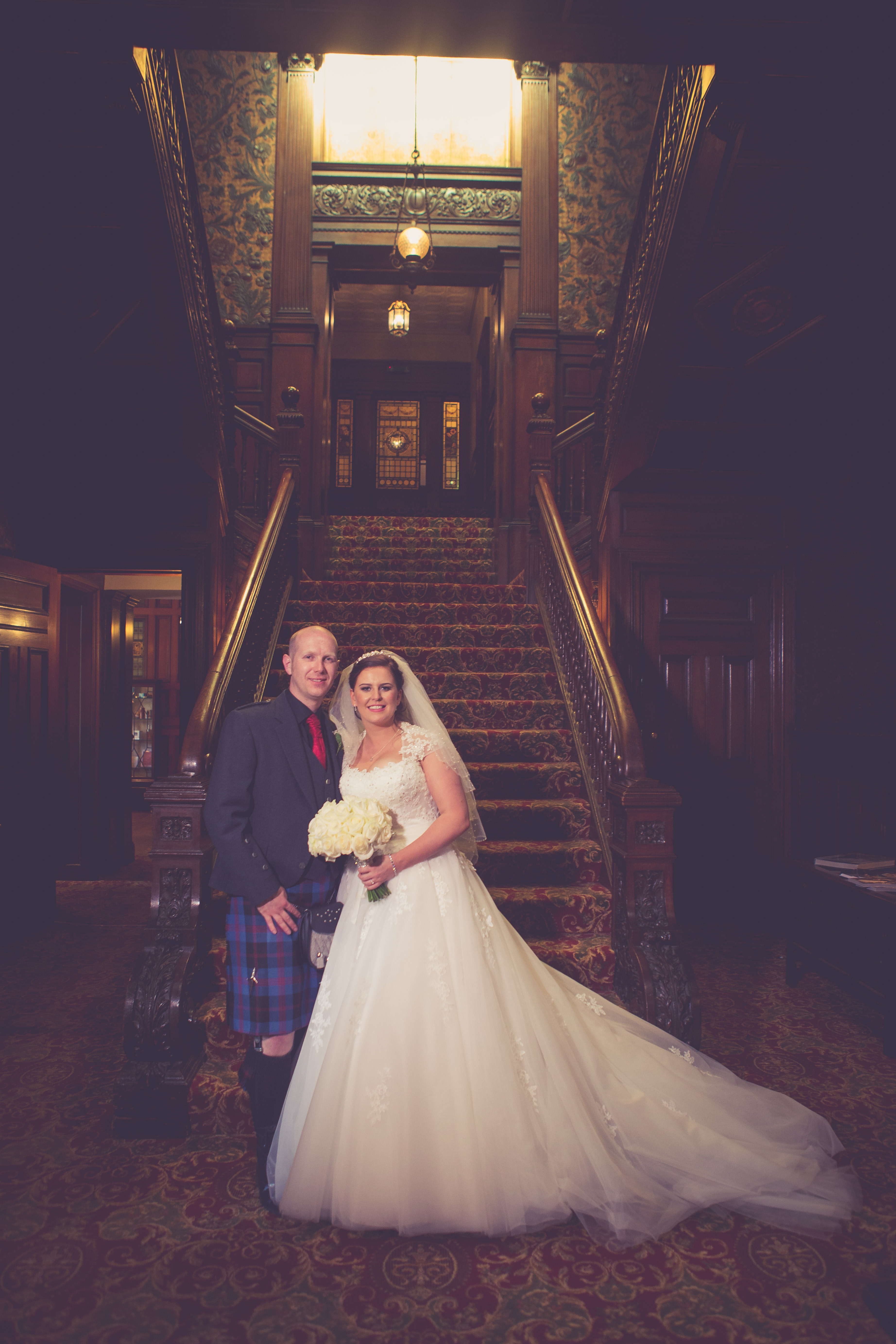 Your Real Weddings - Stephanie & Adam