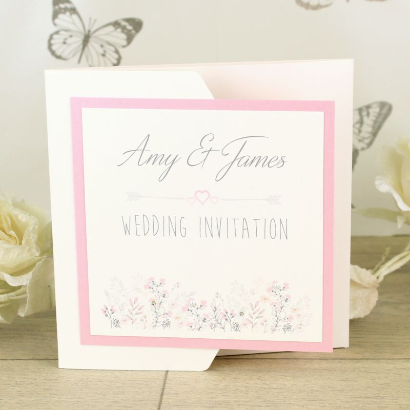 Emma Pocket Fold Invitation