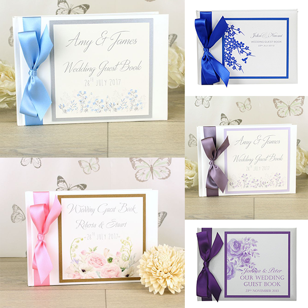Your wedding guest book guide