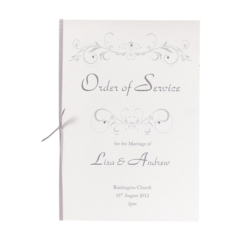 Your order of service guide