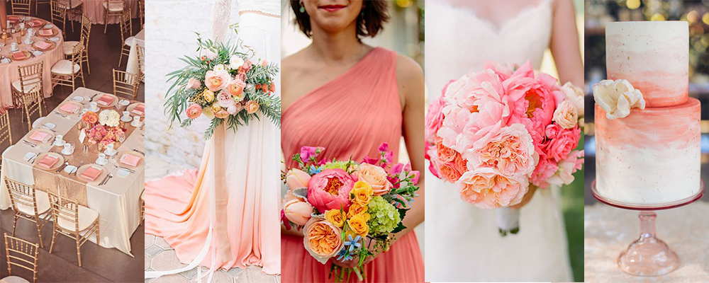 Coral Pantone colour of the year