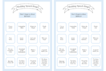 5 Free Wedding Table Games