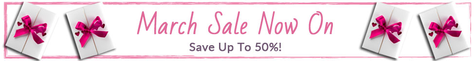 March Sale Now On!