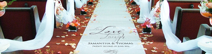Personalised Aisle Runners