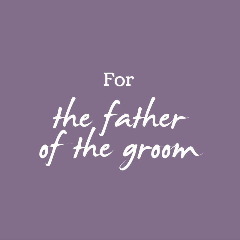 Wedding Gifts for Father of the Groom