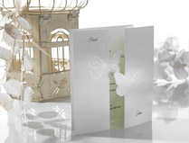 Folded Wedding Invitations