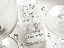 Wedding Table Crystals