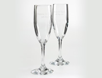 Wedding Champagne Flutes and Glasses