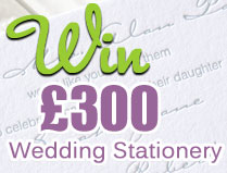Bride and Groom Stationery Competition